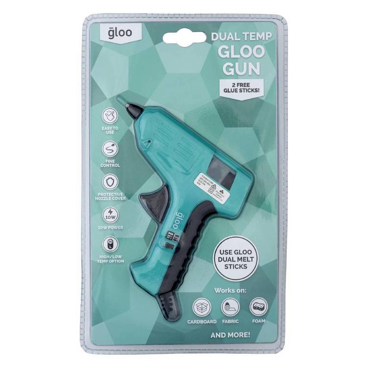 Gloo Dual Temperature Low & High Glue Gun