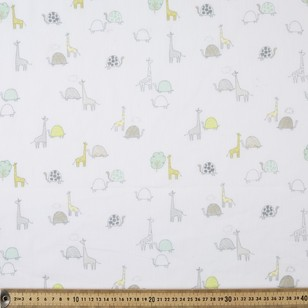 Turtles Printed Muslin