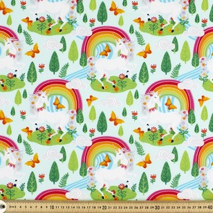 Magic Garden Printed Poplin