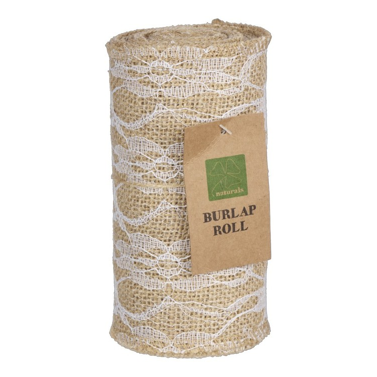 Burlap All Lace Roll