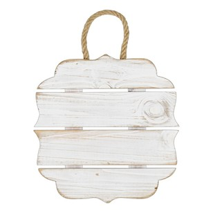 Francheville 4 Slat Square Wood Ornament
