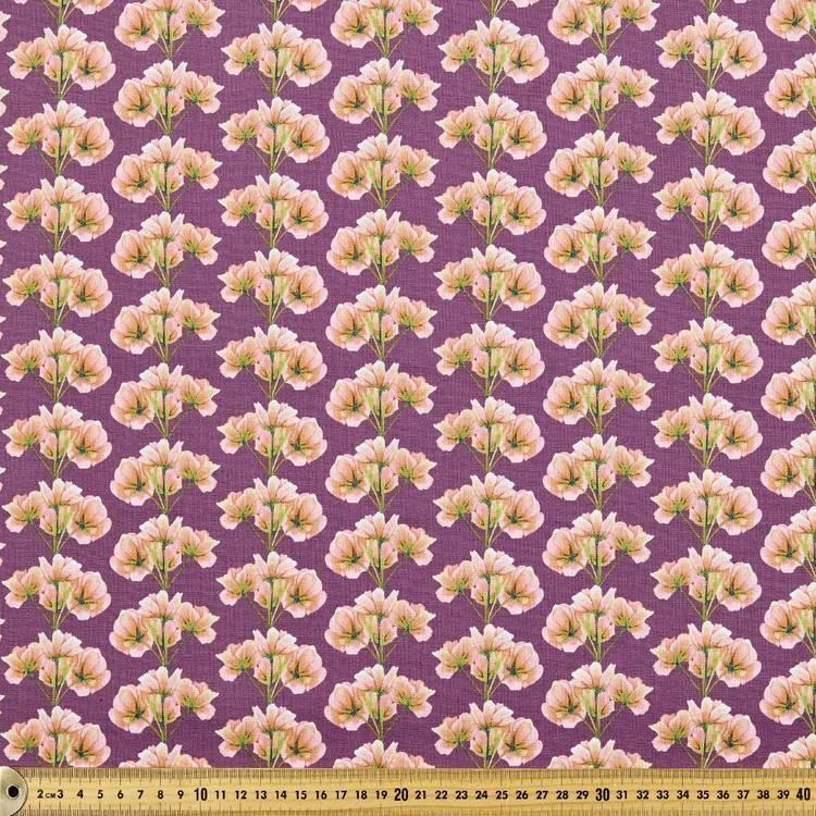 Budgie Serenade Floral Bundles Fabric