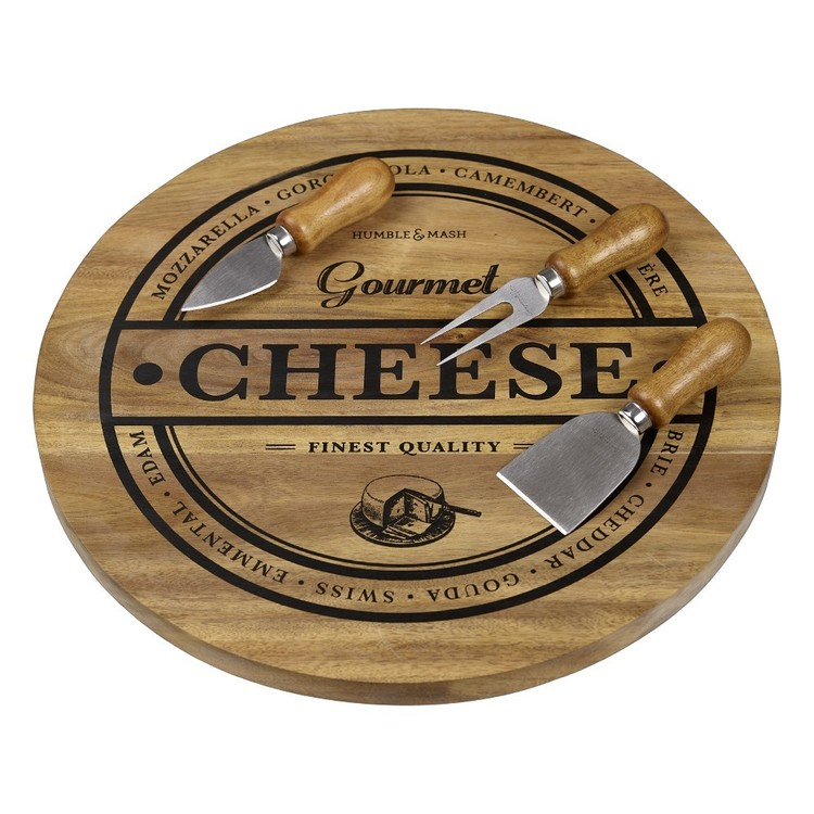Southwest Cheese Serving Set Natural