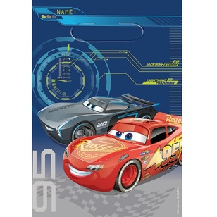 Cars 3 Folded Loot Bags