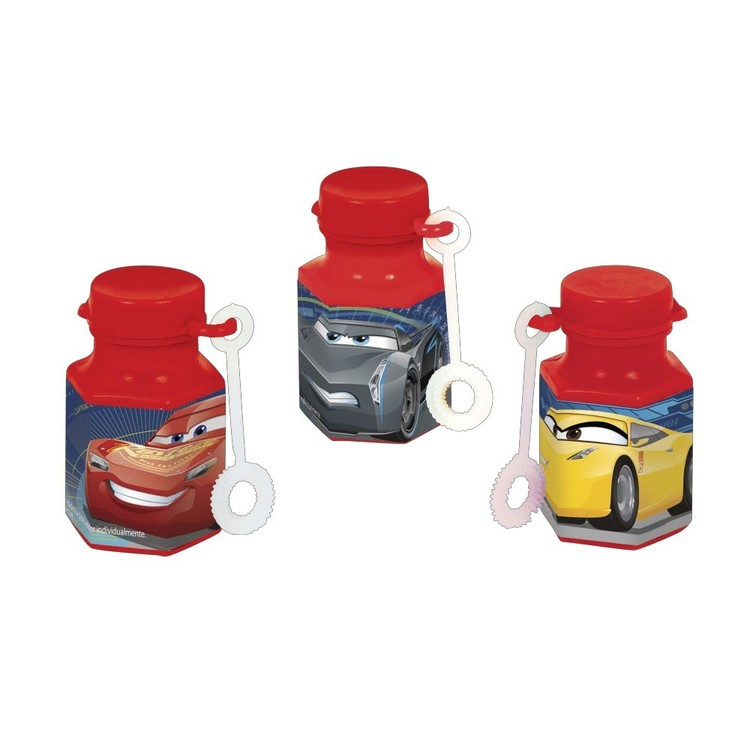 Cars 3 Mini Bubble Favours