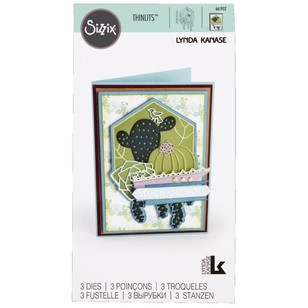 Sizzix Succulent Silhouette Thinlits Die
