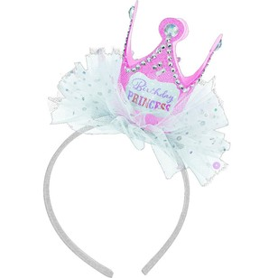 Amscan Birthday Princess Felt Headband