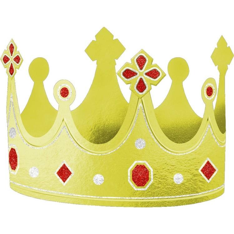 Amscan Foil Crown Hat