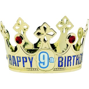 Amscan Customisable Birthday Age Crown