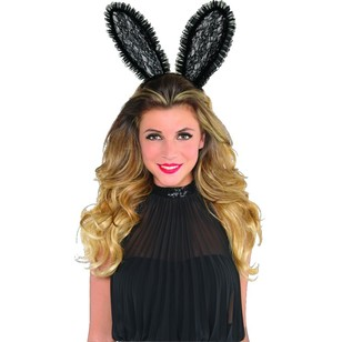 Amscan Lace Bunny Ears Headband