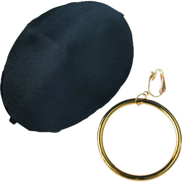 Amscan Pirate Earing And Eye Patch