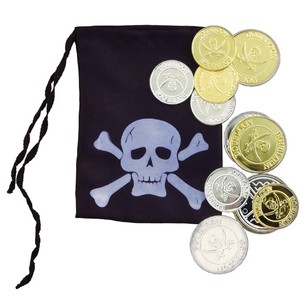 Amscan Pirate Coin & Pouch Set