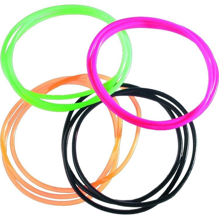Amscan 80'S Jelly Bracelets