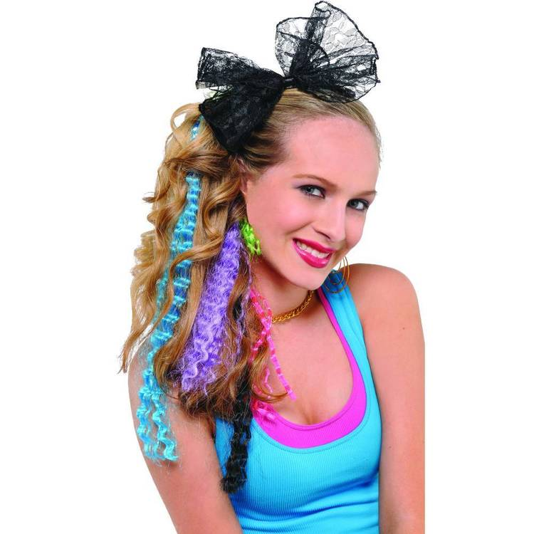 Amscan 80'S Crimped Hair Extensions