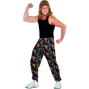 Amscan 80'S Muscle Pants