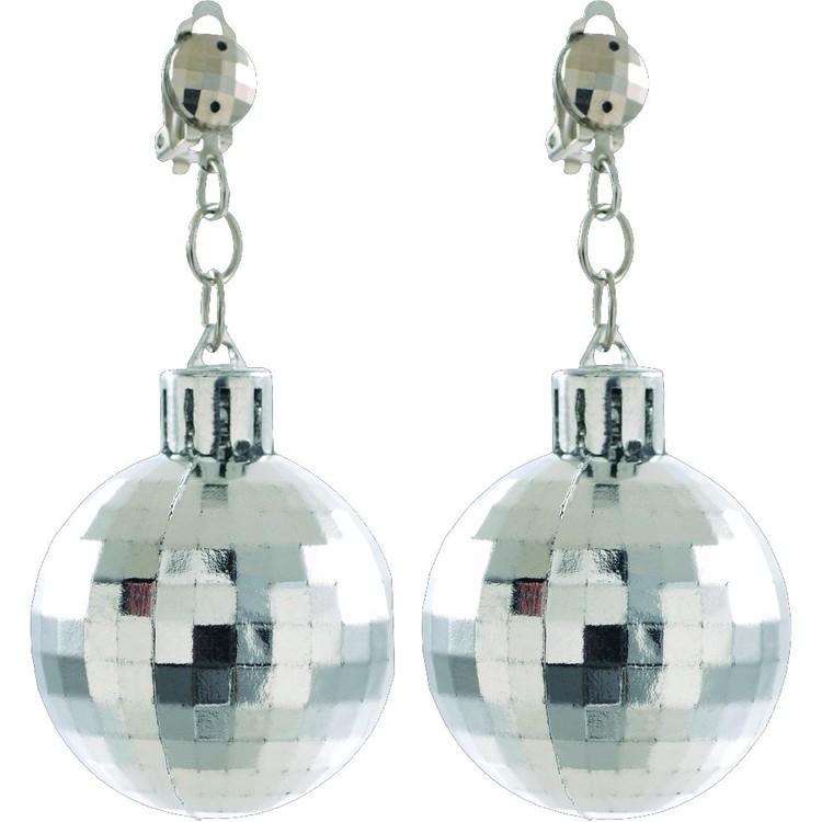 Amscan Disco 70'S Disco Ball Earrings