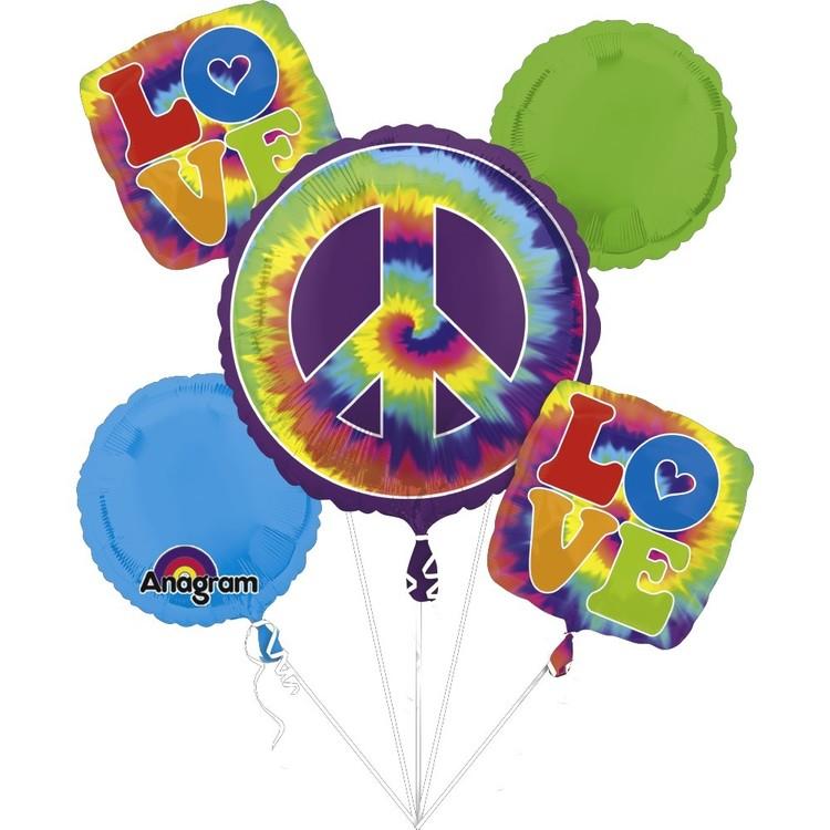 Amscan Groovy 60'S Feeling Groovy Balloon Bouquet