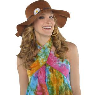 Amscan Groovy 60'S Floppy Hat