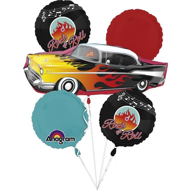 Amscan 50'S Fabulous Balloon Bouquet