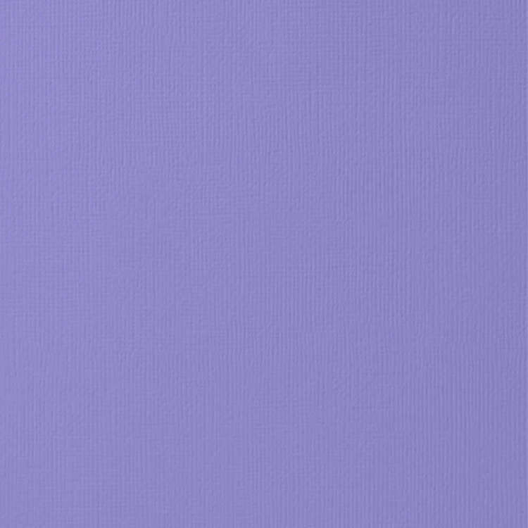 American Crafts Text Cardstock Plum 12 x 12 in