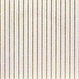 American Crafts Design Gold Stripe Paper