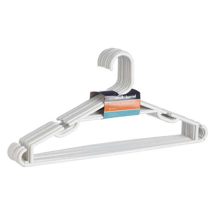 Lock Stock & Barrel Plastic Hanger