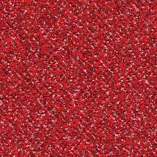 American Crafts Coredinations Glitter Silk Red Flash Cardstock