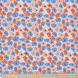 Cloud 9 Organic Petunias Fabric