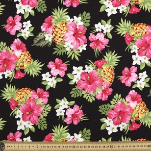 Gertie Tropicana Printed Rayon Fabric