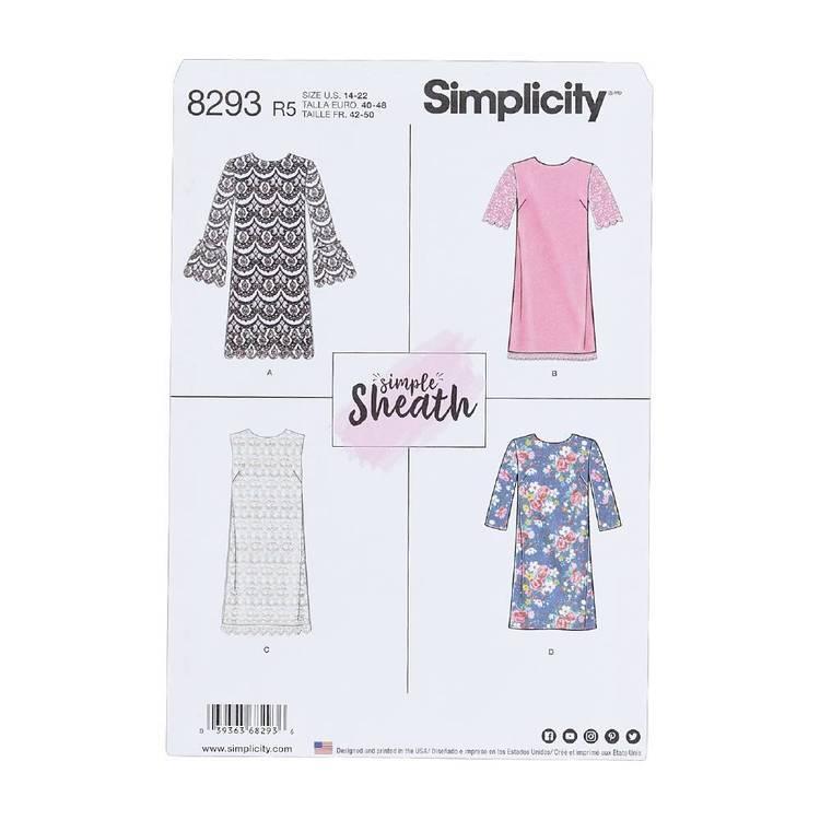 Simplicity Pattern 8293 Dresses