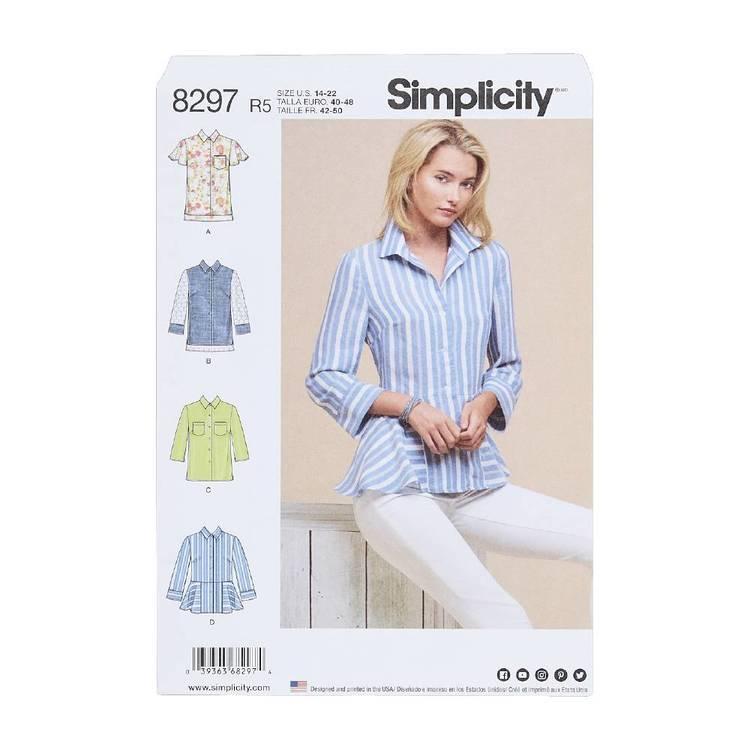Simplicity Pattern 8297 Shirts