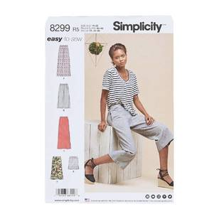 Simplicity Pattern 8299 Skirts/Pants