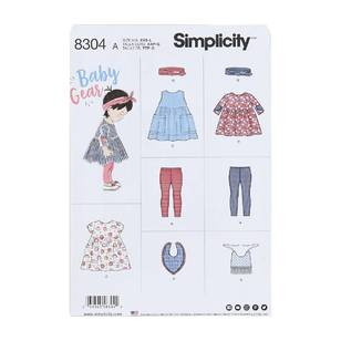 Simplicity Pattern 8304 Leggings