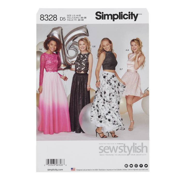 Simplicity Pattern 8328 Special Occasions Dress