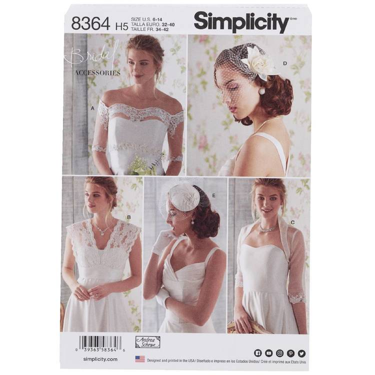 Simplicity Pattern 8364 Cover-Ups