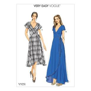 Vogue Pattern V9251 Dresses