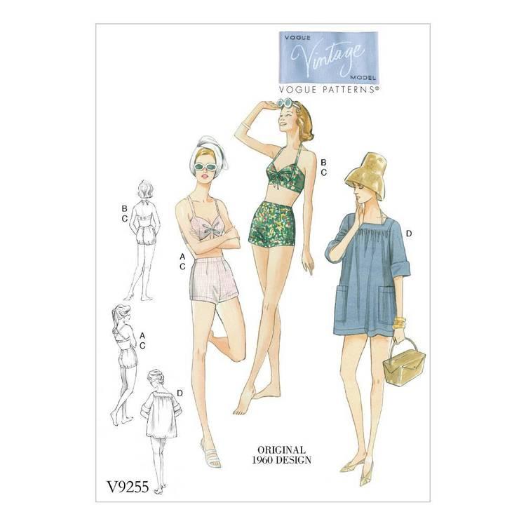 Vogue Pattern V9255 Bra