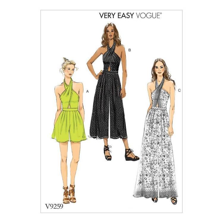 Vogue Pattern V9259 Romper & Jumpsuit