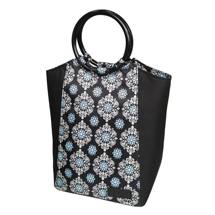 Sachi Black Medallion Sachi Lunch Bag