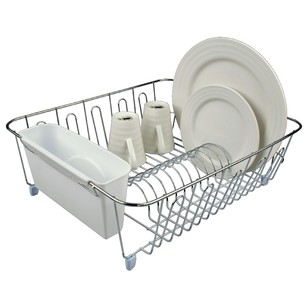 D.Line Large Dish Drainer With Caddy