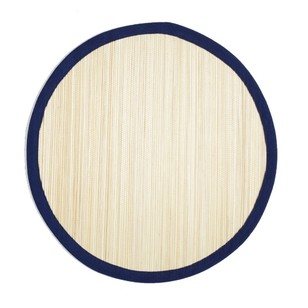 Dine By Ladelle Tropical Straw Round Placemat