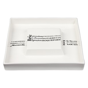 Love Home Fromage Square Cheese Platter With Insert
