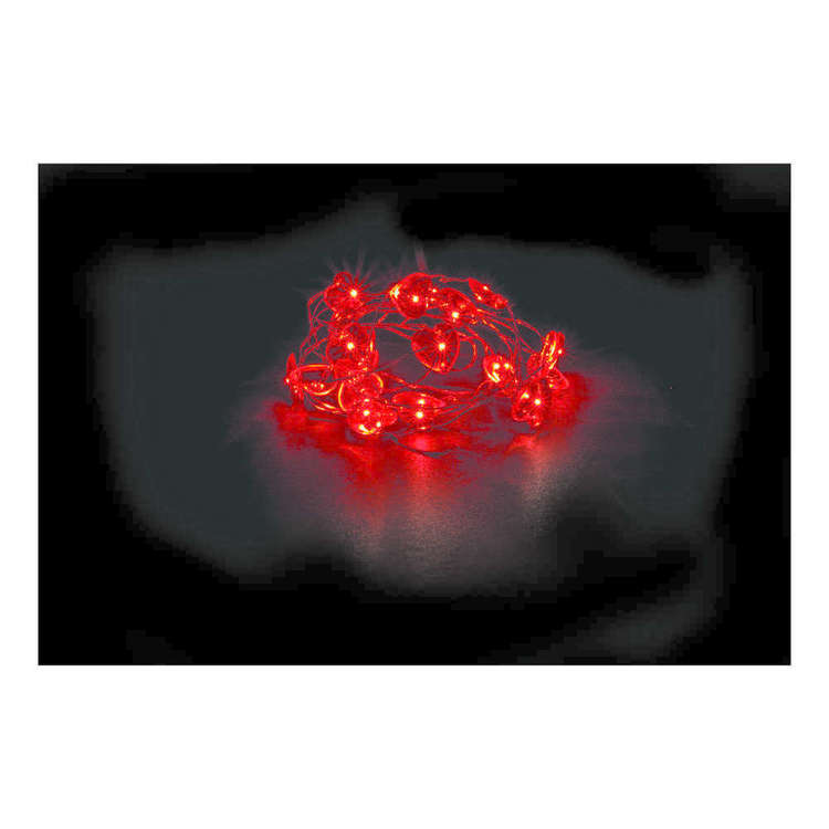 Emporium 2 Heart LED Lights Red 2 m