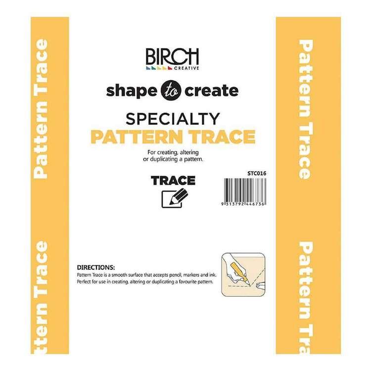 Shape To Create Pattern Trace