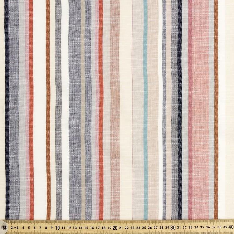 Spice Stripe Yarn Dyed Cotton Fabric