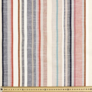 Spice Stripe Yarn Dyed Cotton Fabric