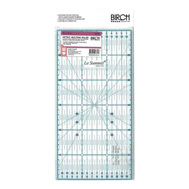 Birch Quilt Metric Ruler