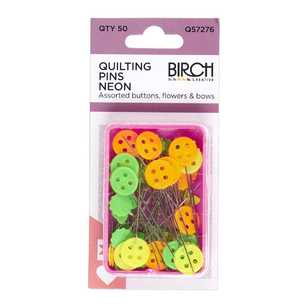 Birch Pins Quilting 50 Pack
