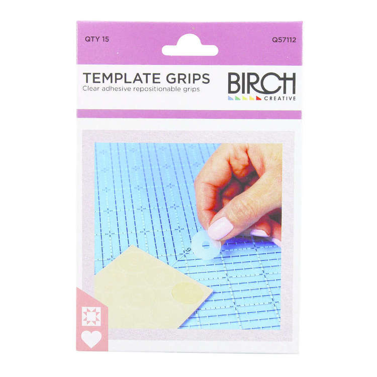 Birch Grips Template Blue
