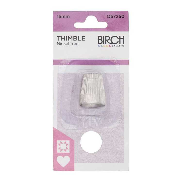Birch Plated Thimble